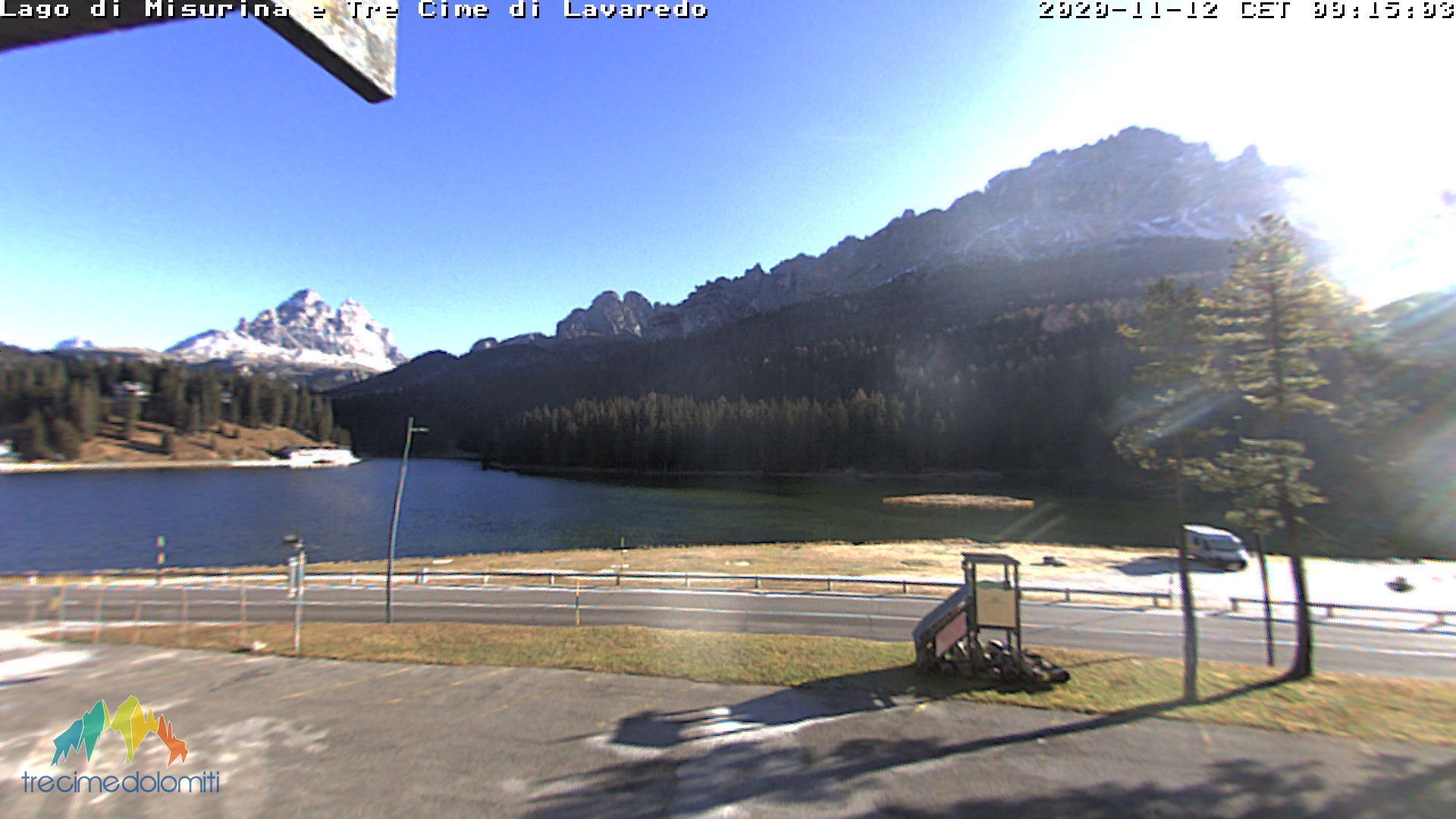 Webcam Lago di Misurina - Tre Cime